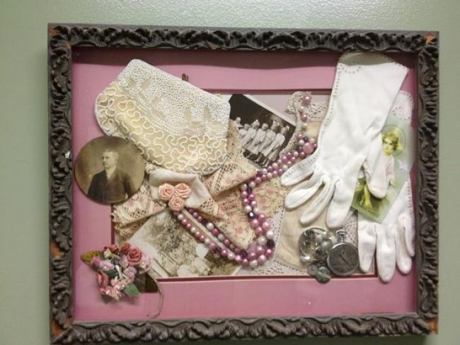 Plateau souvenir mariage - Alzheimer