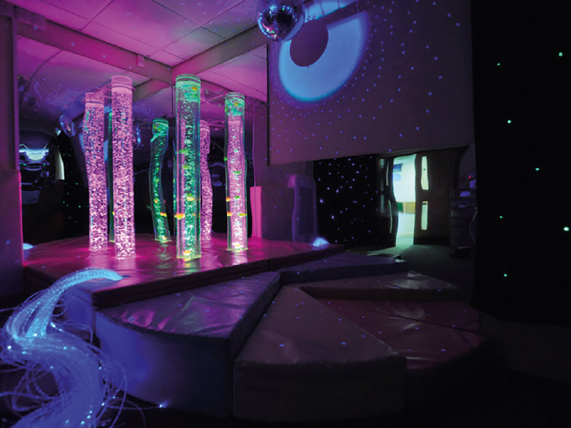 salle sensorielle