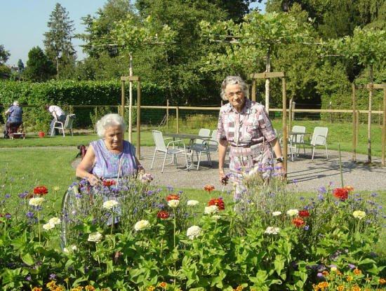 Un jardin thérapeutique pour patients atteints d'alzheimer à Strasbourg